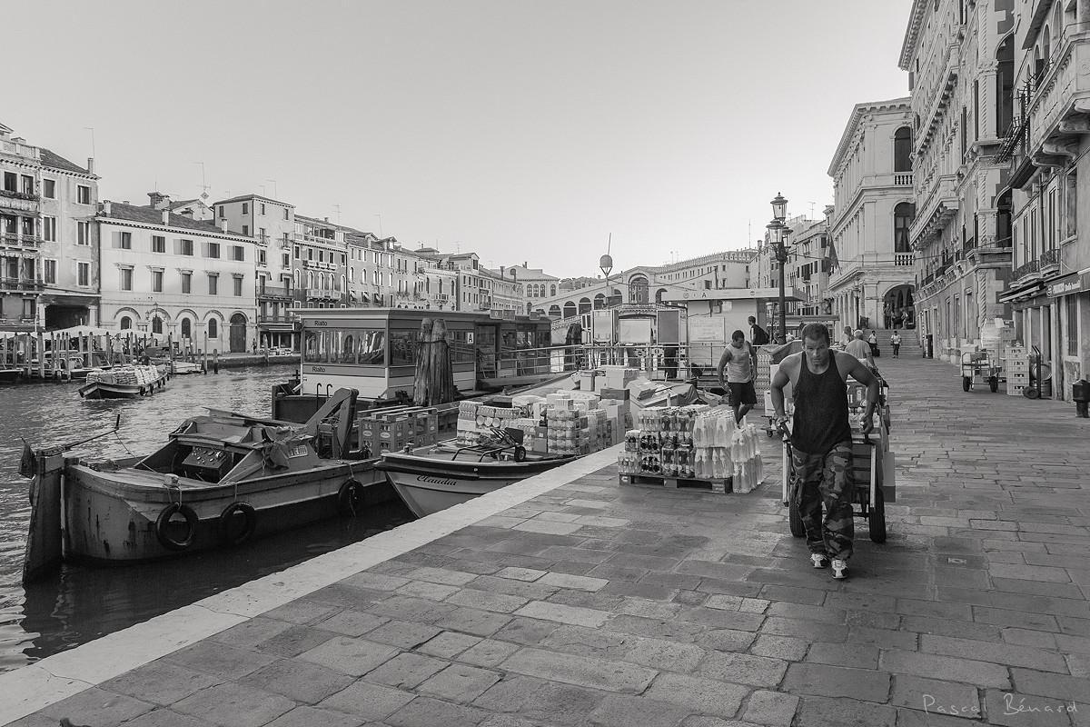 Venise en N&B