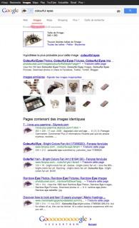 Recherche avec Google Image