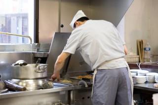 La cuisson des Gyozas