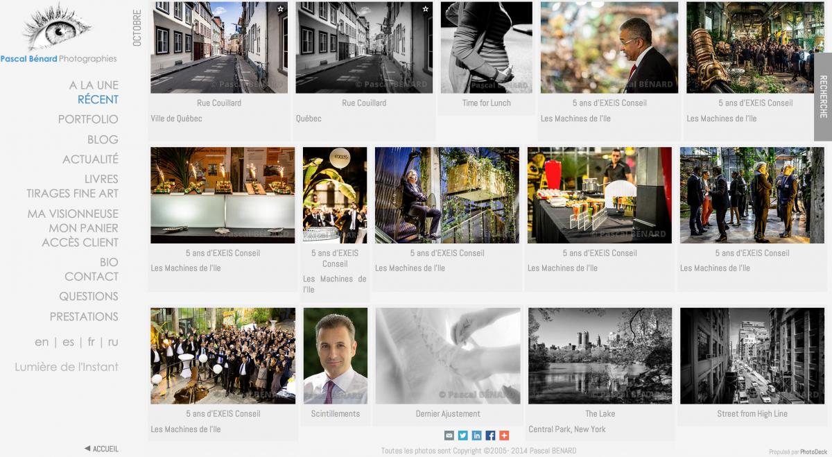 Retour d'Expérience sur le Choix d'un Site Web pour Photographe – 1 an après